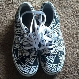 Men's Van Canvas Shoes Size 10.0